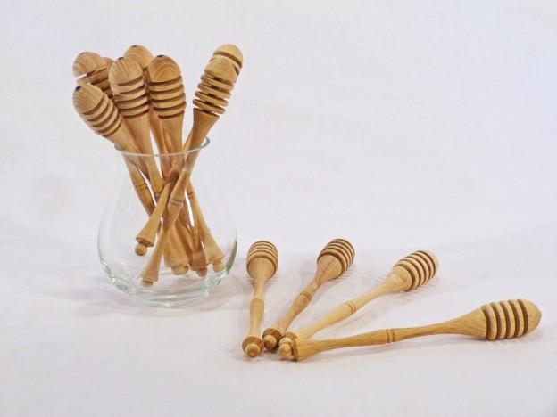 Fa konyhai eszközök mézcsurgató K11
