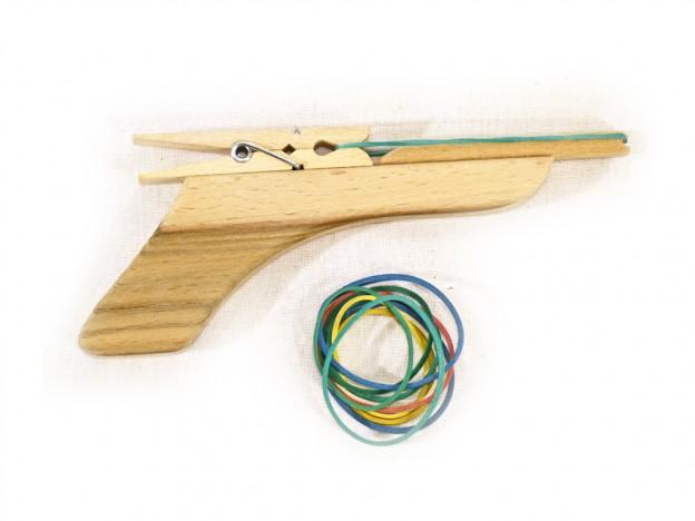 Fajáték játékfegyverek gumis pisztoly JF-31
