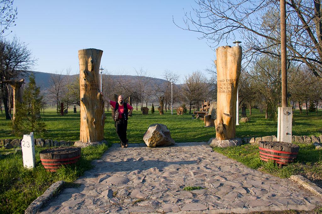 Erdőbénye emlékpark