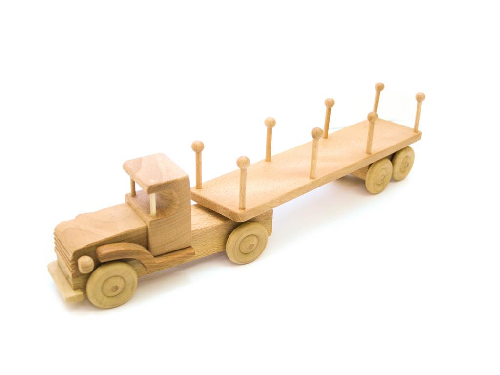 Nyerges vontató (rönkszállító)